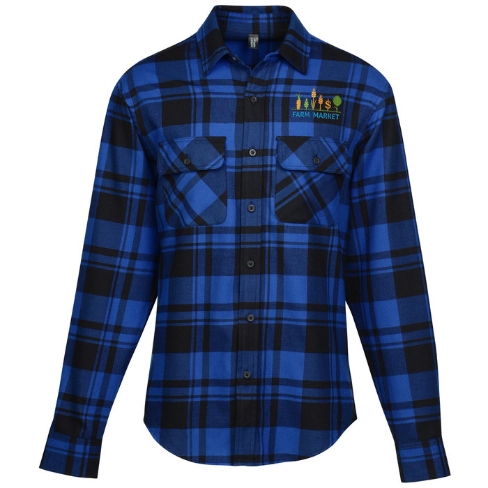 4imprint Com Plaid Flannel Shirt Men S 142041 M