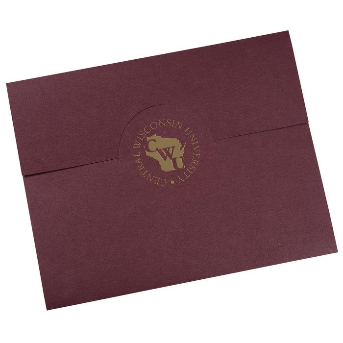 Personalized Award Frame Custom Certificate Holder Logo On