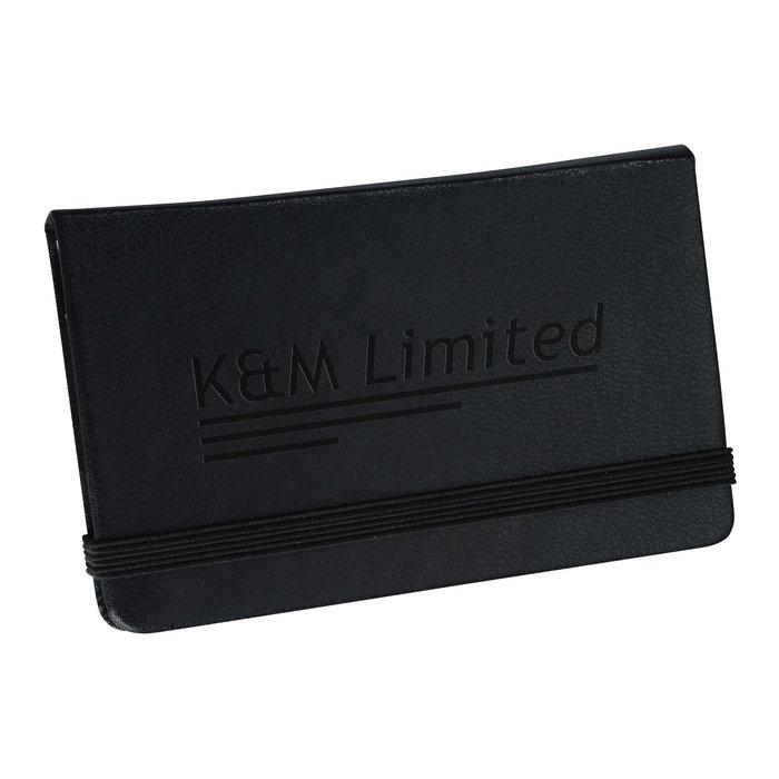 4imprint.com: Moleskine Business Card Holder 142511: Imprinted ...