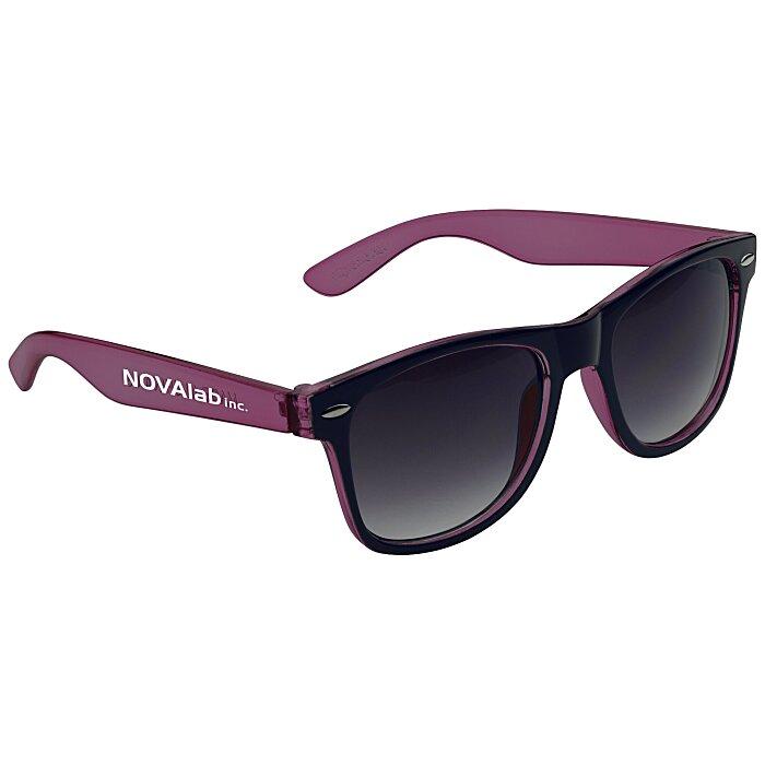 0f75c081b7 4imprint.com  Risky Business Sunglasses - Translucent Two-Tone 109494-TTT