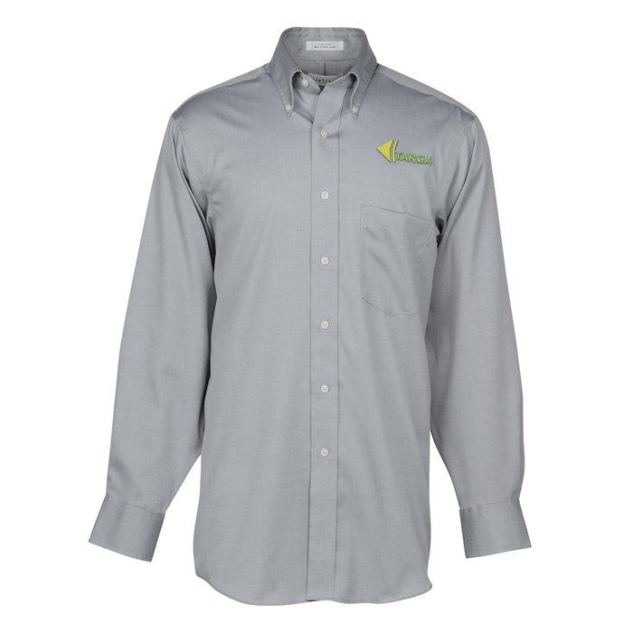 f14750d3 4imprint.com: Van Heusen Non Iron Pinpoint Oxford Shirt - Men's 142735-M