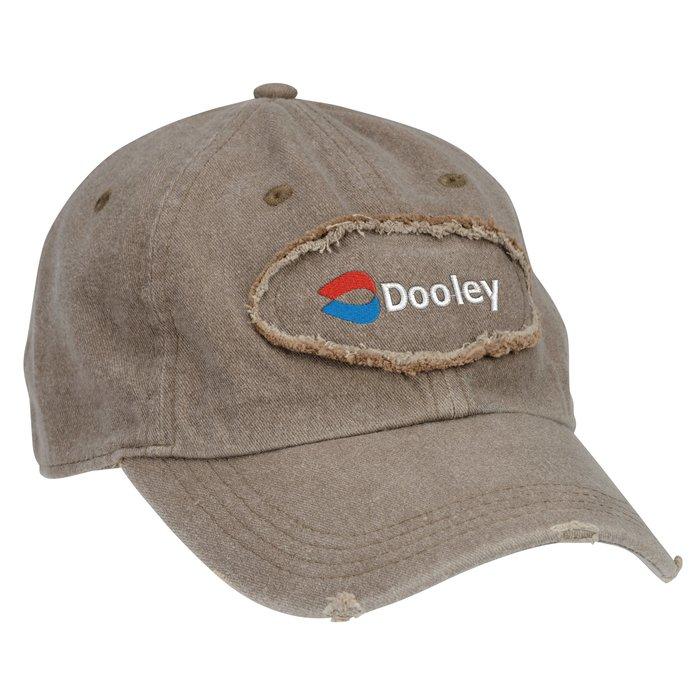4imprint.com  Authentic Pigment Pigment-Dyed Raw-Edge Patch Baseball Cap  143491 e191d035e33