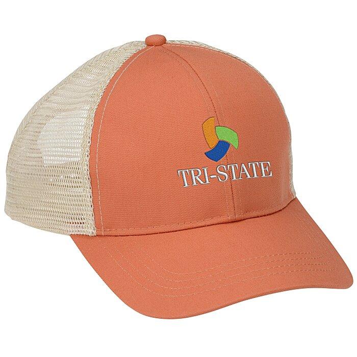 198e67be453 4imprint.com  Econscious Eco Trucker Organic Recycled Cap 143500