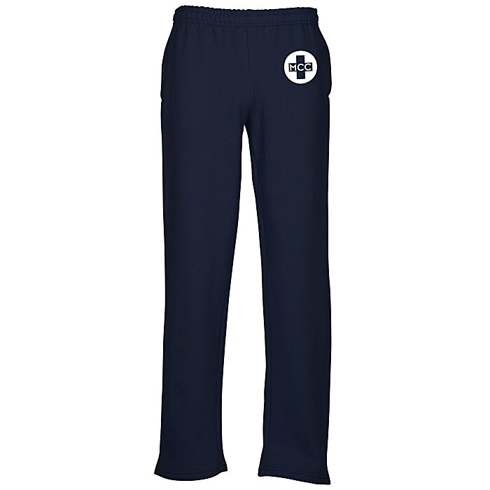 44544042d9e90c 4imprint.com: Gildan 8 oz. Heavy Blend 50/50 Open Bottom Sweatpants with  Pockets 143547-P
