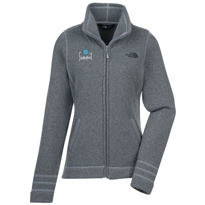e37c9da051c1 4imprint.com  The North Face Heather Fleece Jacket - Ladies  143790-L