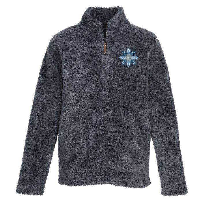 Newport Plush Fleece 1/4 Zip Pullover - Men's (Item No. 144321-M ...