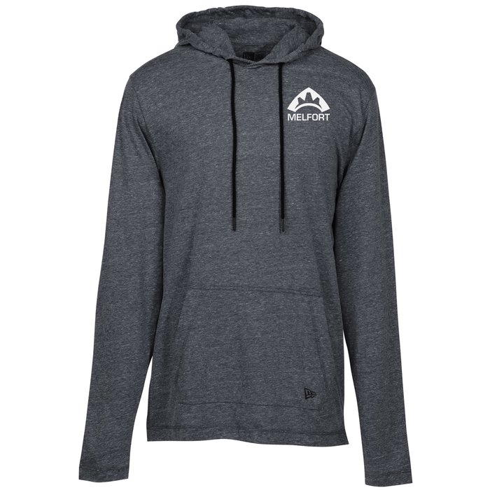 a695e649 4imprint.com: New Era Tri-Blend Performance Hooded Tee - Men's - Screen  144703-M-S
