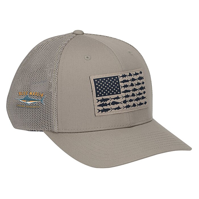 42144375b77 4imprint.com  Columbia PFG Mesh Flexfit Ball Cap 144707