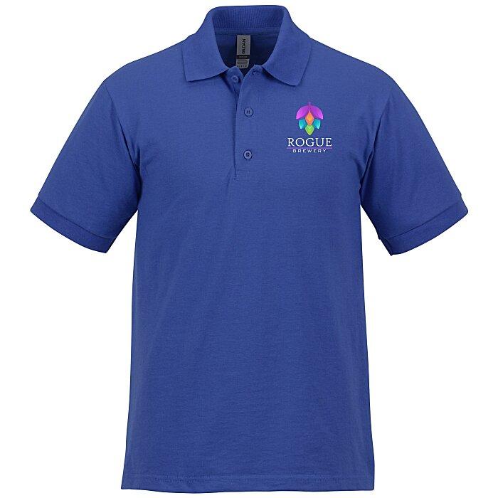b6005bfb4 4imprint.com: Gildan 6 oz. DryBlend 50/50 Jersey Polo - Full Color 105469-FC