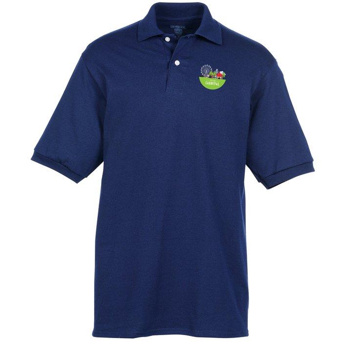 5bdfda05 4imprint.com: Jerzees Spotshield Jersey Knit Shirt - Men's - Full Color  6443-M-FC