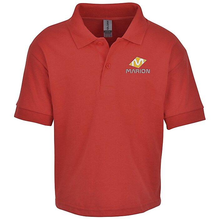 89cc95be8 4imprint.com: Gildan 6 oz. DryBlend 50/50 Jersey Polo - Youth 105469-Y