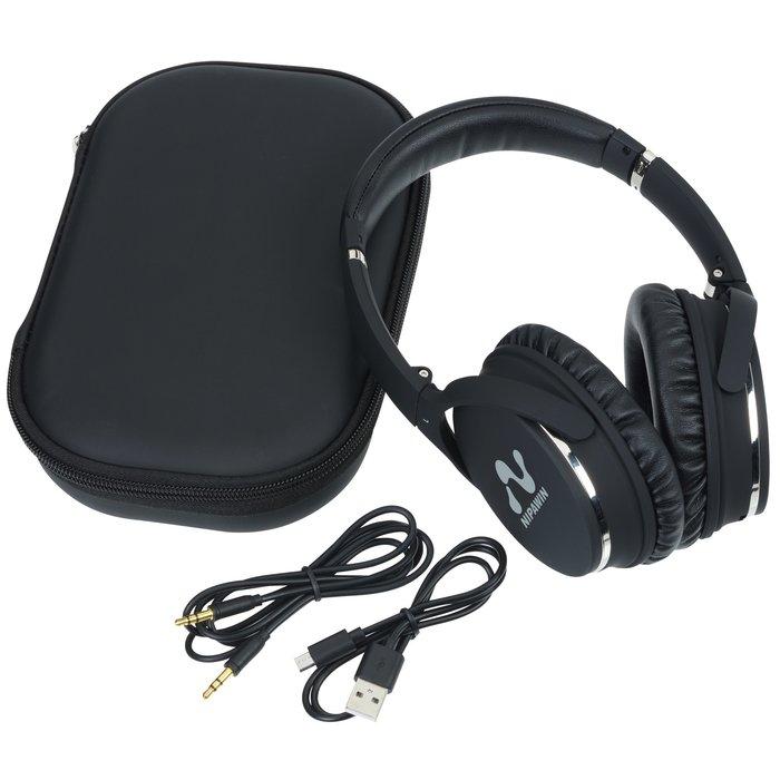 3d3642e8716 4imprint.com: Brookstone Noise Canceling Bluetooth Headphones 145767