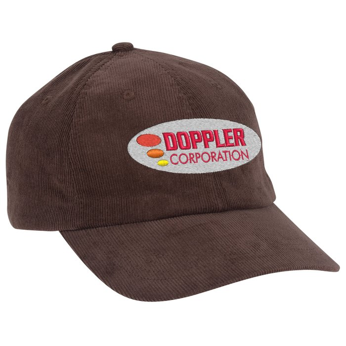 2550c1534f8 4imprint.com  Big Accessories Corduroy Cap 145838