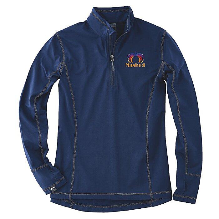 db8eb99b 4imprint.com: Storm Creek Smart Stretch 1/4-Zip Pullover - Ladies' 145825-L