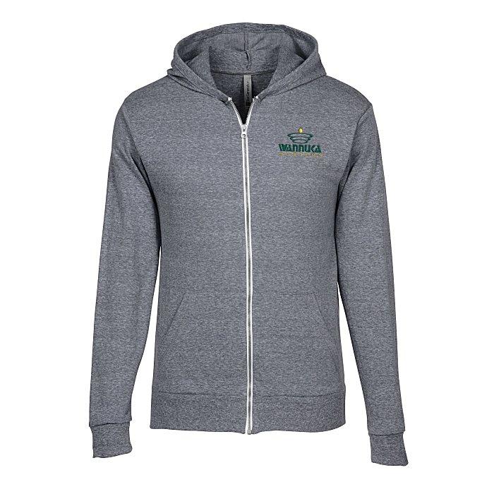 4imprint.com: Lightweight Tri-Blend Full-Zip Hoodie