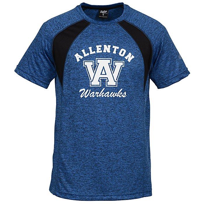 636f497c 4imprint.com: Rawlings Performance Cationic T-Shirt - Colorblock 147913-CB