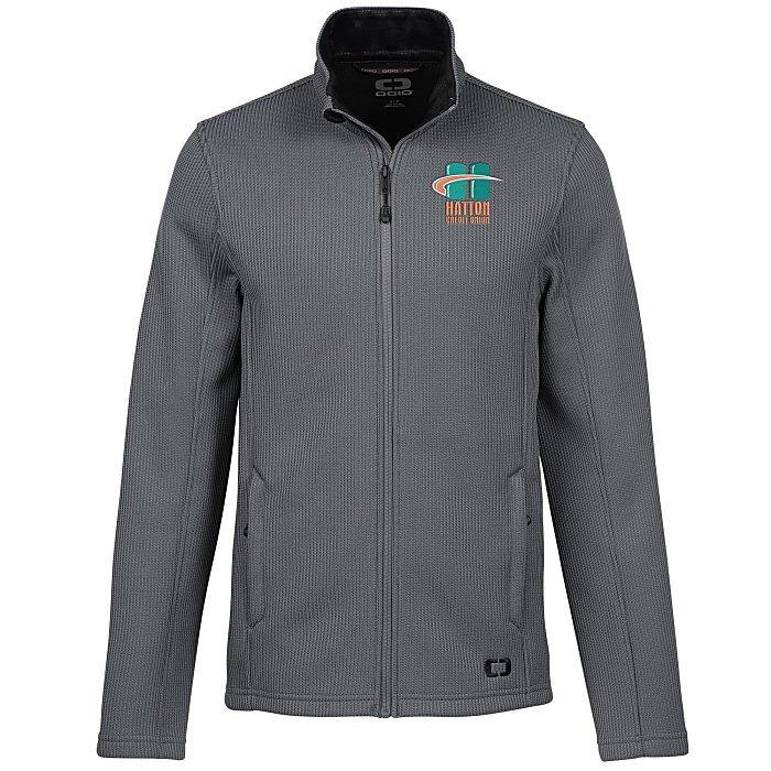 cca2c45f8 OGIO Ribbed Fleece Jacket - Men's