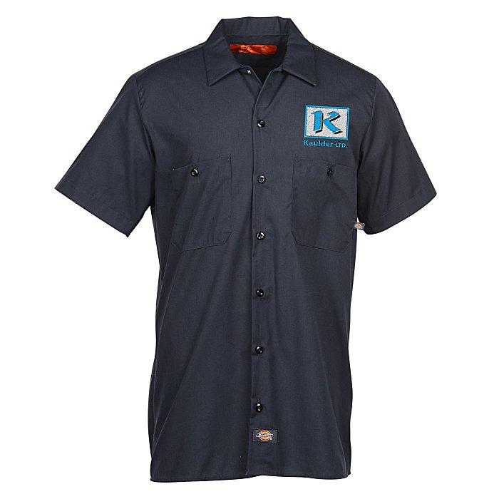 e802646468d 4imprint.com  Dickies 4.25 oz Industrial Short Sleeve Work Shirt - Men s  147963-SS