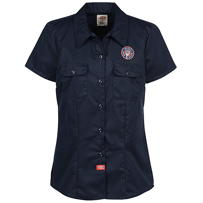 a26eced008f 4imprint.com  Dickies 5.5 oz. Work Shirt - Ladies  108382-L