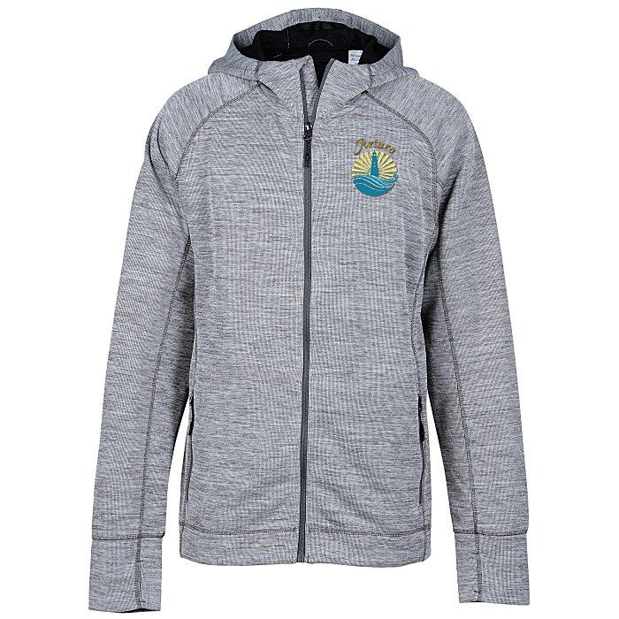 a731e701f 4imprint.com: Odell Heather Knit Hooded Jacket - Men's 148539-M
