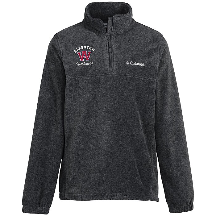 hot sale online af2fc be359 4imprint.com  Columbia Steens Mountain 1 4-Zip Fleece Pullover 6404-M-QZ