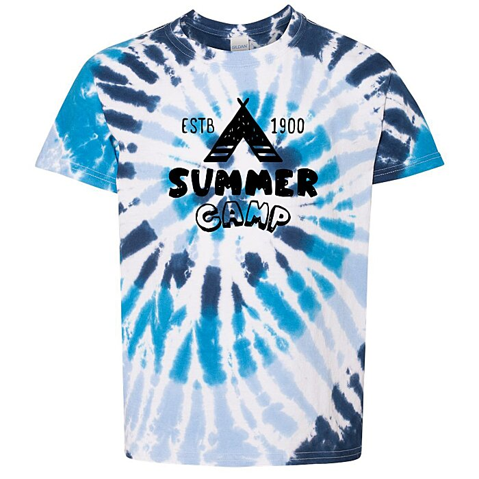 cc0863753 4imprint.com: Dyenomite Summer Camp Tie-Dye T-Shirt - Youth 147331-Y