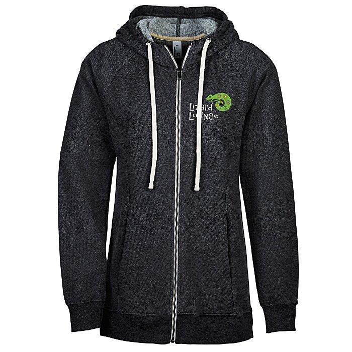 4imprint.com: Optimal Tri-Blend Full-Zip Hoodie