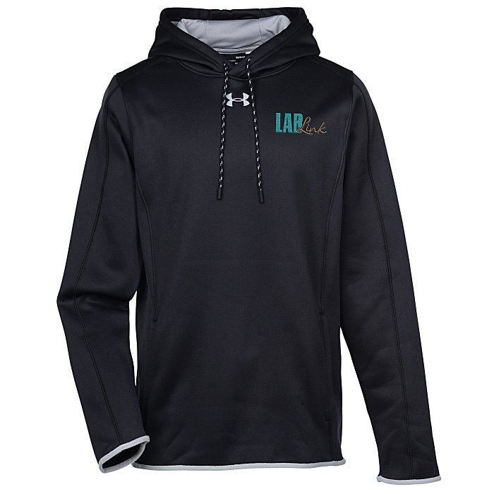 e6a36160 Under Armour Double Threat Hoodie - Men's - Embroidered