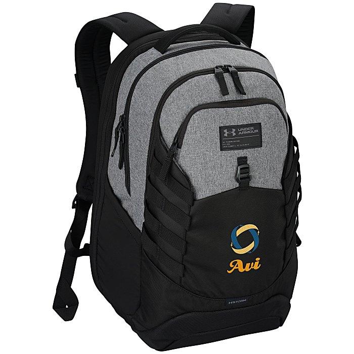95ebfcb58 4imprint.com: Under Armour Hudson Laptop Backpack - Embroidered 149686-E