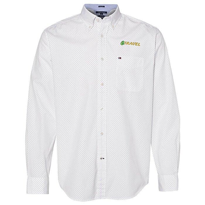 ea4bb2a5 4imprint.com: Tommy Hilfiger Polka Dot Shirt 149928