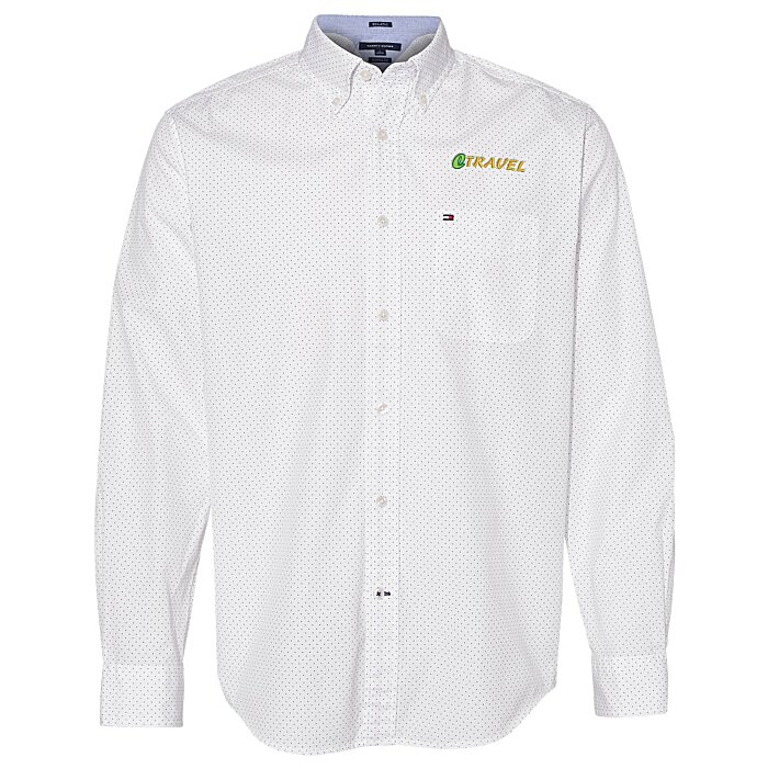78882b3a1 4imprint.com: Tommy Hilfiger Polka Dot Shirt 149928
