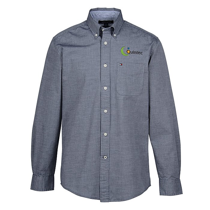 9d546a2d 4imprint.com: Tommy Hilfiger Capote Chambray Shirt - Men's 149929-M
