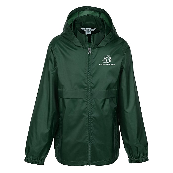c7d189a0 4imprint.com: Zone Lightweight Hooded Jacket - Youth - Screened ...