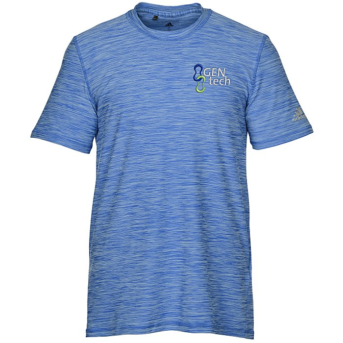 2235be92e4c adidas Melange Tech T-Shirt - Men's - Embroidered