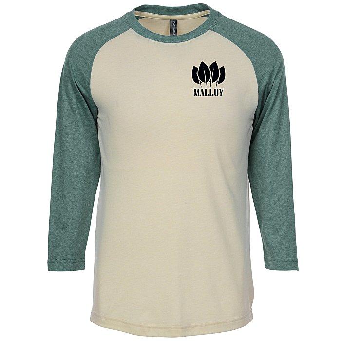 422165dae 4imprint.com: Primease Tri-Blend Raglan 3/4-Sleeve Shirt 151599