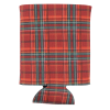 View Extra Image 1 of 1 of Pocket Can Holder - Christmas Tartan