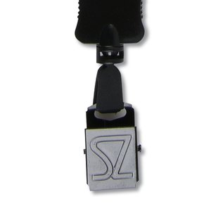 "Big Lanyard - 7/8"" - 32"" - Large Metal Bulldog Clip"