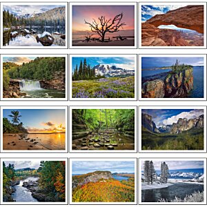 Beautiful America Calendar - Pocket Image 1 of 2