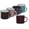 View Extra Image 2 of 2 of Campfire Ceramic Mug - Colors - 15 oz.