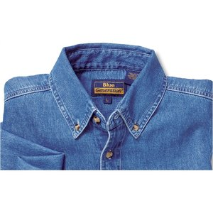 Blue Generation Denim Shirt - Men's Image 1 of 2