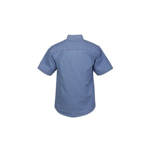 Blue Generation Short Sleeve Denim Shirt - Men's