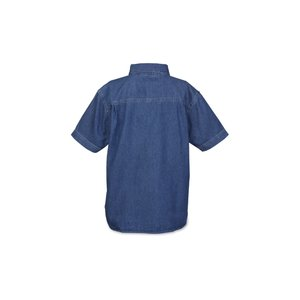 Blue Generation Short Sleeve Denim Shirt - Ladies' Image 1 of 1