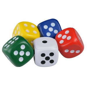 Dice Stress Reliever Image 1 of 1