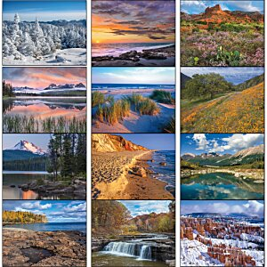 Landscapes of America Calendar - Stapled Image 2 of 2