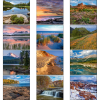 View Extra Image 1 of 1 of Landscapes of America Calendar - Mini