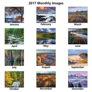 Landscapes of America Calendar (English) - Spiral Image 1 of 1