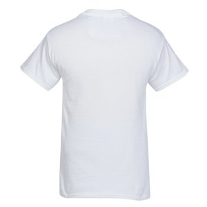Gildan 6 oz. Ultra Cotton T-Shirt - Full Color - White Image 1 of 1