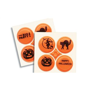 Halloween Safety Card with Quad-Dots Image 3 of 3
