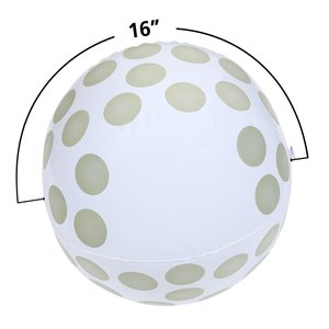 Sport Beach Ball - Golf Ball Image 1 of 1