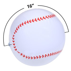 Sport Beach Ball - Baseball Image 1 of 1